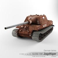 3d sd kfz 186 tiger