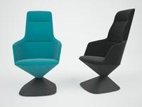 3d 3ds pivot chair