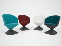 3d model of pivot chair
