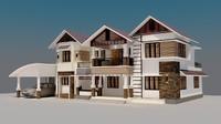 modern house exterior max