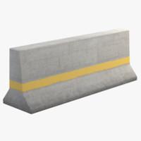 pbr concrete 3d obj