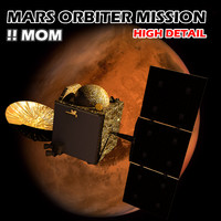 3d obj mars orbiter mission mom