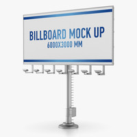 billboard advertising obj