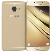3d samsung galaxy c5 gold