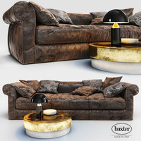 3d model sofa baxter alfred soft