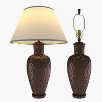 table lamp robert abbey 3d model