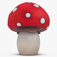 cartoon mushroom 3ds