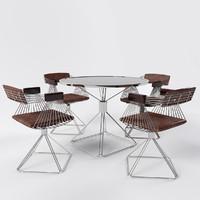 Dining Set by Rudi Verelst