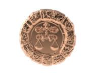 obj medal astro libra
