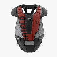 3d hockey goalie chest protector model