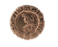 3d medal astro virgo model