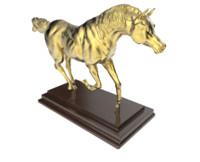 3d model of horse statue