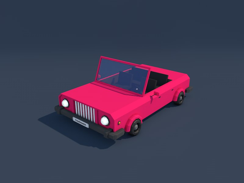 Low Poly Cabriolet_01.png