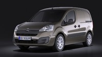 3d model 2015 citroen berlingo