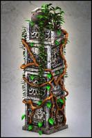 3d totem model