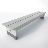 3d pavilion wooden bench 1 wood