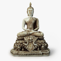3d model buddha sculpture