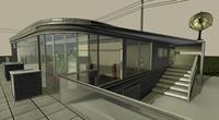 free interior test 3d model