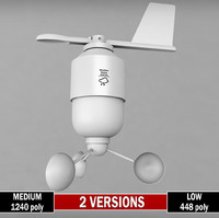 3ds weather meteo station anenometer