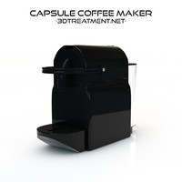 3d capsule coffee maker