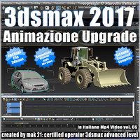 3ds max 2017 Animazione Upgrade vol 65 MP4