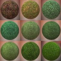 Grass Textures Pack 001