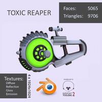 3d toxic reaper model