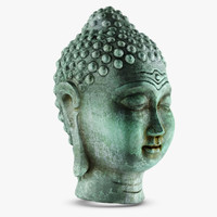 buddha head obj