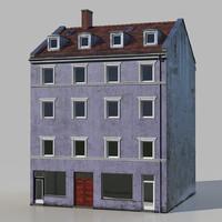 european residence 3d max