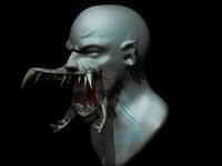 3d model monster evil