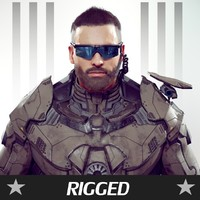 sci-fi soldier games rigged max