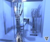 3d model terminator arm