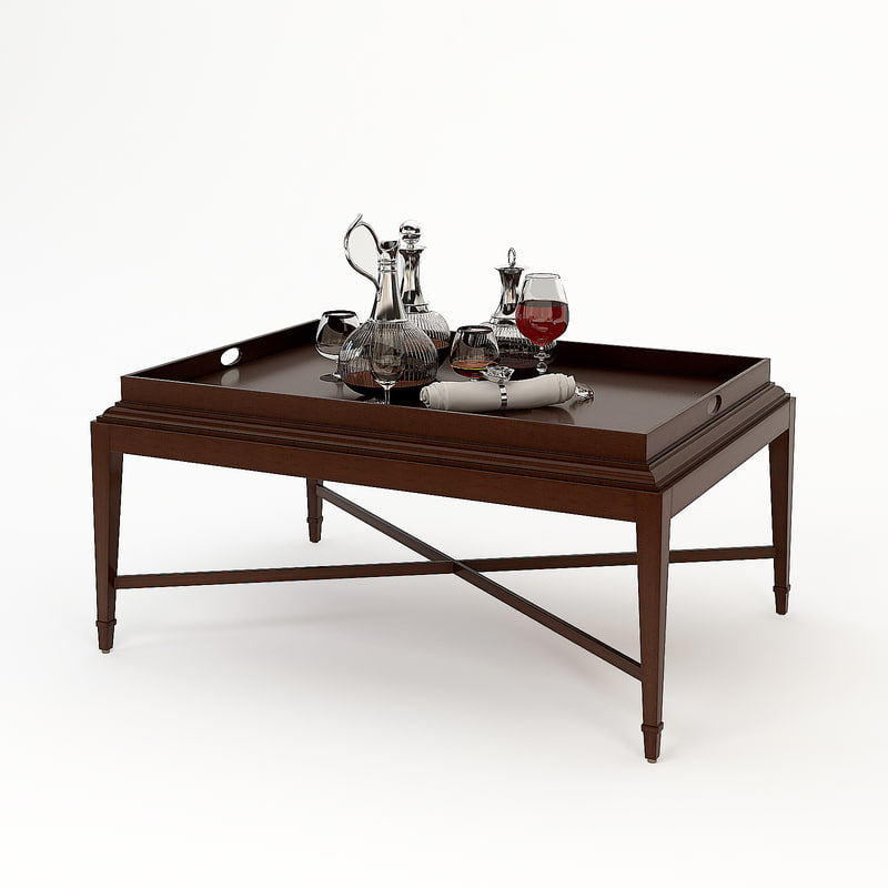 Barbara barry tray coffee table obj Barbara barry coffee table