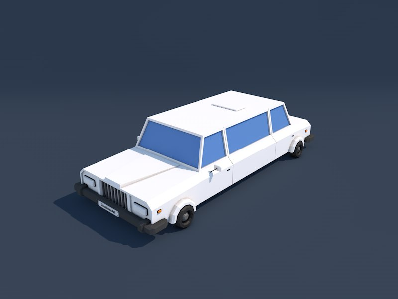 Low Poly Limousine_01.png