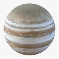 3d model of jupiter planet