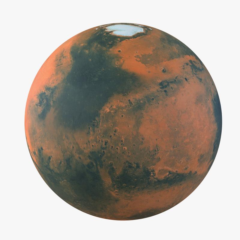 Mars Planet fbx 3d model 00.jpg
