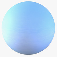 uranus planet 3d 3ds