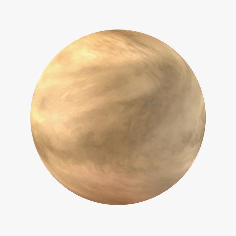 Venus Planet 3d model 00.jpg