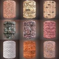 Brick Textures Pack 001