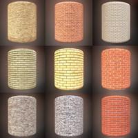 Brick Textures Pack 002