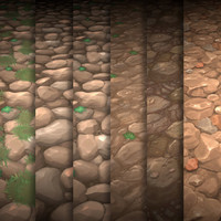 Hand Painted Rock Texture Vol.01