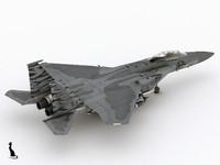 f-15 eagle 3d max