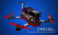 v2 racing drone 3d max