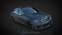 3d model of mercedes c63 benz
