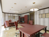 office interior 5 3d max