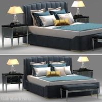 3d model galimberti zaffiro bed