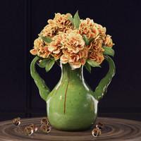 pottery barn vase 3d model