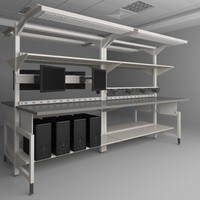 3d height adjustable workbench
