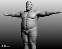 3d model male character
