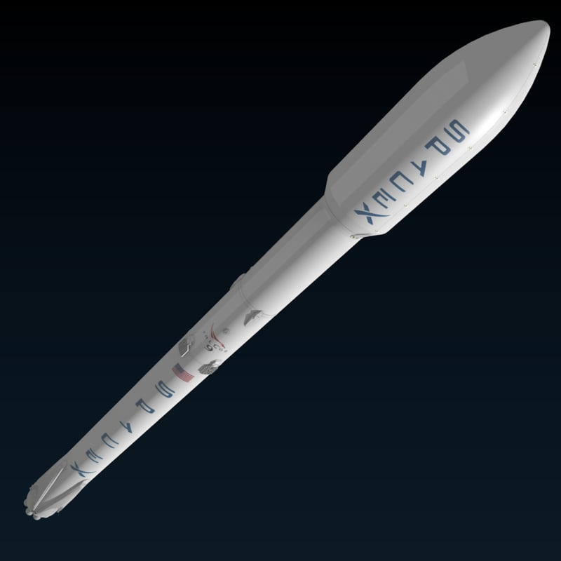 spacex model rocket-#46